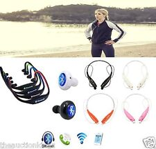 Wireless Bluetooth Sport Headset Stereo Headphone Earphone Handfree Universal