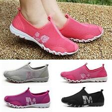 Women Men Ventilate Casual Walking Loafers Slip on Tennis Athletic Fashion Shoes