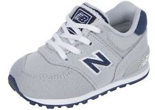New Balance KL574SSI 574 Polo Pack Grey/Navy Athletic Shoes Toddler's Size