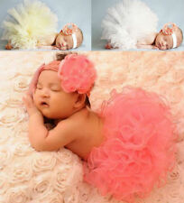 Cute Newborn Baby Girl Photo Prop Photography Clothes Tutu Dress Costume Set