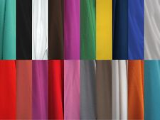 """SILKY CREPE DE CHINE CDC HIGH TWIST POLY FABRIC 60"""" APPAREL 20 COLOR BY THE YARD"""