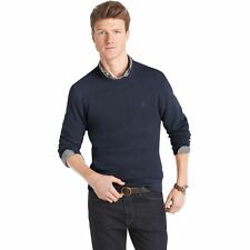 New Men IZOD Solid Sueded - Fleece Sweater Pullover -Multi Colors - MSRP: $50.00