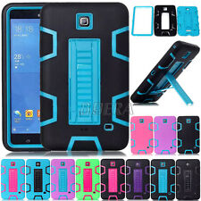 Heavy Duty Rugged Rubber Combo Hybrid Cases Cover For Samsung Galaxy Tab4 T230