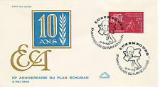 1960 CEPT / With runners Luxembourg - CEPT/ Mitläufer Luxemburg - FDC (2)