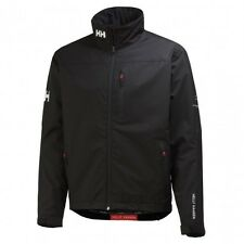 Helly Hansen Jacket Crew Midlayer Fleece Lined Waterproof Black New
