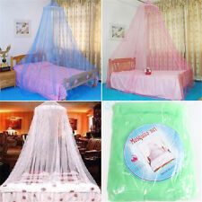 Princess Elegant Lace Bed Mosquito Netting Mesh Canopy Round Dome Bedding Net