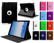 New 360° Rotate PU Premium Leather Stand Case Cover For Apple iPad 6 Air 2