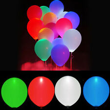 LED Balloons Helium Quality Balloon Mix Colour Light up Party Birthday Weddings