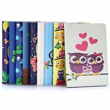 Cartoon Flip Stand Elastic Band PC+PU Leather Case for iPad Air 1st Generation