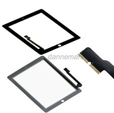 Touch Screen Display Glass Digitizer Replacement For iPad 3rd Gen 4th Gen