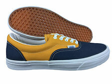 VANS. Era. Vintage. Dark Blue / Sun Yellow Casual Shoe. Mens US Size 11.5.