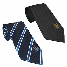 Manchester City FC Official Football Gift Club Crest Tie