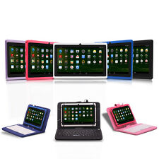 "iRulu Tablet PC New Multi-Color 7"" 8GB Android 4.2 Dual Core & Cam w/ Keyboard"