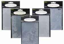 NEW Darice Embossing Folders - Many Designs & Sizes Available - Free Shipping