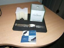 MEN'S SKAGEN DOUBLE FACE QUARTZ WATCH WITH STAINLESS STEEL CASE & BAND