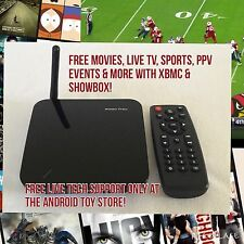Jailbroken XBMC Quad Core Android Tv Box W Webcam. Free Live TV, Movies, PPV