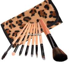 Kit Set Professionale 8pcs Pennelli Makeup Trucco Cosmetici Brush con Custodia