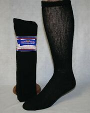6 PAIRS PHYSICIANS CHOICE OVER THE CALF CUSHIONED DIABETIC SOCKS 9-11 MADE USA