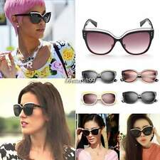 Fashion Retro Vintage Oversized Cats Eye Sunglasses Round Unisex Designer