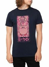 KIRBY NINTENDO DREAMING OF FOOD-HAMBURGERS-JAPANESE T-Shirt Licensed & Official