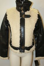 NWT BABY PHAT FAUX FUR FAUX LEATHER AWESOME COAT SIZE LARGE S M XL