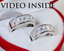 *1.5 CT Each Wedding Bands Set Engagement Ring Diamond  Ring Made in Italy d g