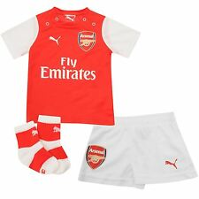 Arsenal FC Home Bebé Kit Camisa Shorts y Calcetines Puma 100% Official AFC