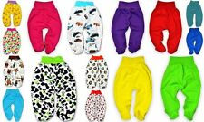 Baby Boy Girl Trousers/ Leggings with feet Bottoms 100% COTTON 0-3-6-9-12 months