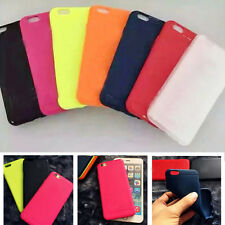 NEW SOFT SILICONE RUBBER CASE SKIN COVER FOR IPHONE 5 5S 6 BACK COVER
