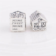 New Authentic Genuine S925 Silver FAMILY HOME SILVER CHARM Bead