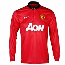 MANCHESTER UNITED XL,2XL HOME 2013/14 L/S NIKE BNWT FOOTBALL SOCCER SHIRT JERSEY