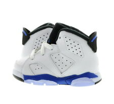 "Infant (TD) Air Jordan 6 Retro ""Sport Blue"" White/Blue 384667-107"