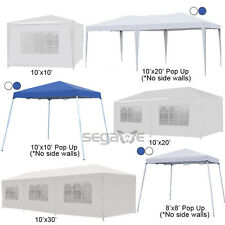 10' 20' 30' Canopy Party Wedding Outdoor Tent Heavy duty Gazebo Pavilion Cater