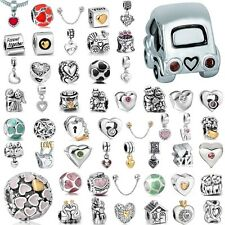 Hot Jewelry Beads Fit European Charms 925 Sterling Silver Bracelets Chains 3MM