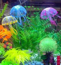 Hot Sale Glowing Effect Jellyfish For Aquarium Fish Jar Tank Ornament Swim Decor