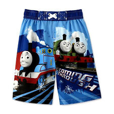 THOMAS THE TANK TRAIN Sz 3T Swim Suit Shorts Trunks COMING THROUGH ~ NWT