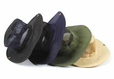 Hot Unisex Man Wide Brim Sun Hat Bucket Hat Boonie Camping Hunting Fishing Cap