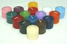 72-Votive Candles~BUY BULK and Save~Show Off The Colors~Great Price