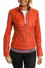 New Online Shopping Lambskin Biker Stylish Leather Jacket For Women EHS W- 63