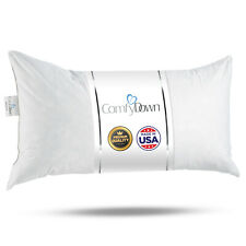 "ComfyDown Rectangle Pillow Insert FEATHER /DOWN  - 12"" X ALL SIZES!! Made in USA"