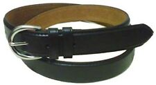 "5549 - 1.25"" WIDE DARK BROWN LEATHER DRESS BELT FOR LADIES & FREE US SHIPPING"