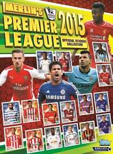 245-305 2014/2015 Topps Merlin Premier League official collectors stickers