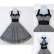 Victorian Vintage Retro Style Swing 50s Housewife Pinup Swing Rockabilly Dress