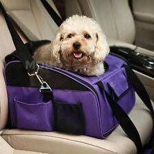 CAR FRONT SEAT BOOSTER SEAT DOG/CAT/PET CONSOLE LOOKOUT CARRIER BAG L SIZE