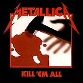 Kill 'Em All by Metallica cd argentina vertigo phonogram 838 142-2