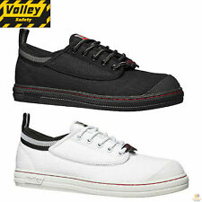 DUNLOP VOLLEYS Steel Cap Toe Safety Shoes Volley Original Classic Trade Sz 4-14