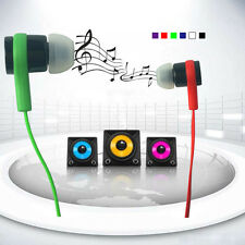 Stereo 3.5mm In Ear Headphone Earphone Earbud for Cellphone Tablet MP3/4 New
