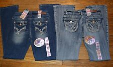 Wallflower Luscious Curvy Barely Bootcut Junior Jeans Authentic Denim Molly Aura