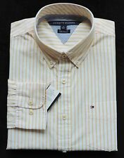 New Men's Tommy Hilfiger Long Sleeve Striped Shirt Size M, L