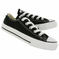 Converse 3J235 Chuck Taylor All-Star Low Black/White Sneaker Youth's Size NEW
